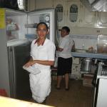 Dinning room staff
