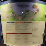 Mapa da Downtown Disney