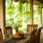 our breakfast area offers outstanding views to the jungle!