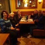 Antonietta with Alberta, Lina, Piergiò and Gino