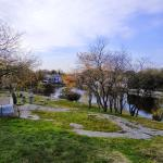 View from the top, Old Burial Hill Cemetery, Marblehead