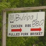 Follow the Sign to Bubba J BBQ
