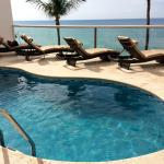 Our own private pool in Penthouse A