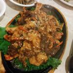 chicken and beef bulgogi bbq