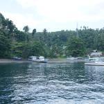 Situs menyelam di sisi utara Selat Lembeh
