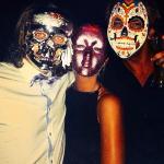 Halloween firande på Hugos lounge i Sydney