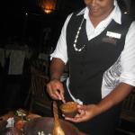 Making your Kokoda at the table