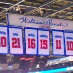 Pistons players