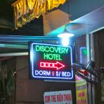 Discovery Hotel signage