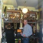 Original bar area, well stocked with a variety of ales,spirits and wines