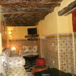Un des salons marocains du rez-de-chaussée