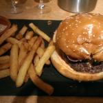 Burger du jour: jambon grillé et gorgonzola