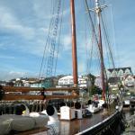 harbor view of Bluenose II