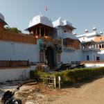 Entrada para o palácio de Kota e museu.