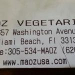 Photo of Maoz Vegetarian