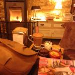 chocolat gourmand, petit feu, magazine :le bonheur des filles...