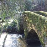 Packhorse bridge, Winsford, Exmoor.