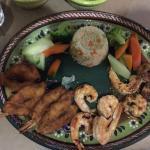 Shrimp 3 ways - very good!