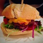 Een heerlijke hamburger