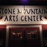A beautiful barn setting awaits you at Stone Mountain Arts Center !