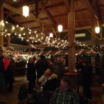 Beautiful barn tavern for pre-dinner drinks ! Loved this tavern !