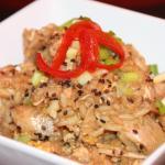 sesame chicken fried rice