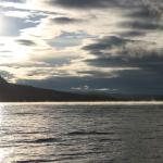 Early morning view of Little Atlin lake