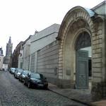 La porte d'entrée du musée