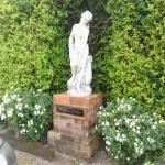 Statue in Willow Lodge gardens