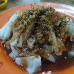 The chee cheong fun that we had, there's a variety.