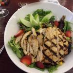Delicious pomegranate chicken salad