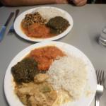 vorzügliches, farbenfrohes Essen :-)