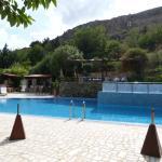 Beautiful pool. Bar & restaurant in summer
