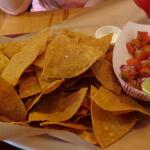 Fried to order chips and fresh salsa