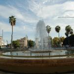 Fountain at Plaza de la Marina
