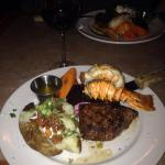 Steak and Lobster Dinner
