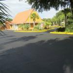 Newly Coated Parking Lot and Driveway