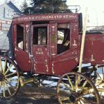 The old stage coach