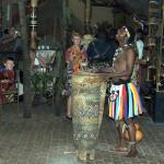 Entertainer at the Boma Restaurant