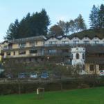 Een zicht op het hotel