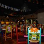 Dining room at Los Machados