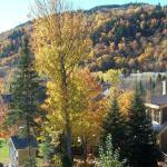 Vue d'automne de notre chambre au 2e étage