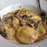 White truffle ravioli