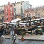 Feira em Verona, não dá pra deixar pra trás.