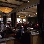 Very nice interior dining area