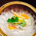 Omakase app daikon persimmon salad
