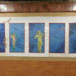 Mosaico Subway NYC