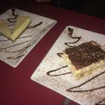 Tirimisu and cheesecake!