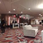 Lobby Area at the Crowne Plaza Princeton
