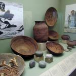 One of the displays in the museum